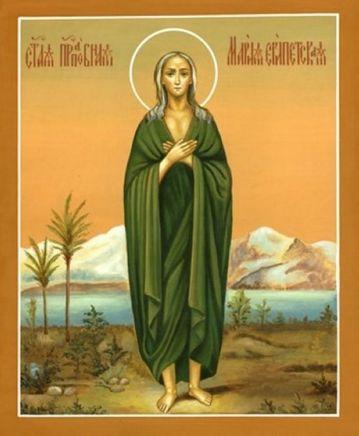 Толкование Евангелия на каждый день года. Неделя 5-я Великого поста Преподобной Марии Египетской