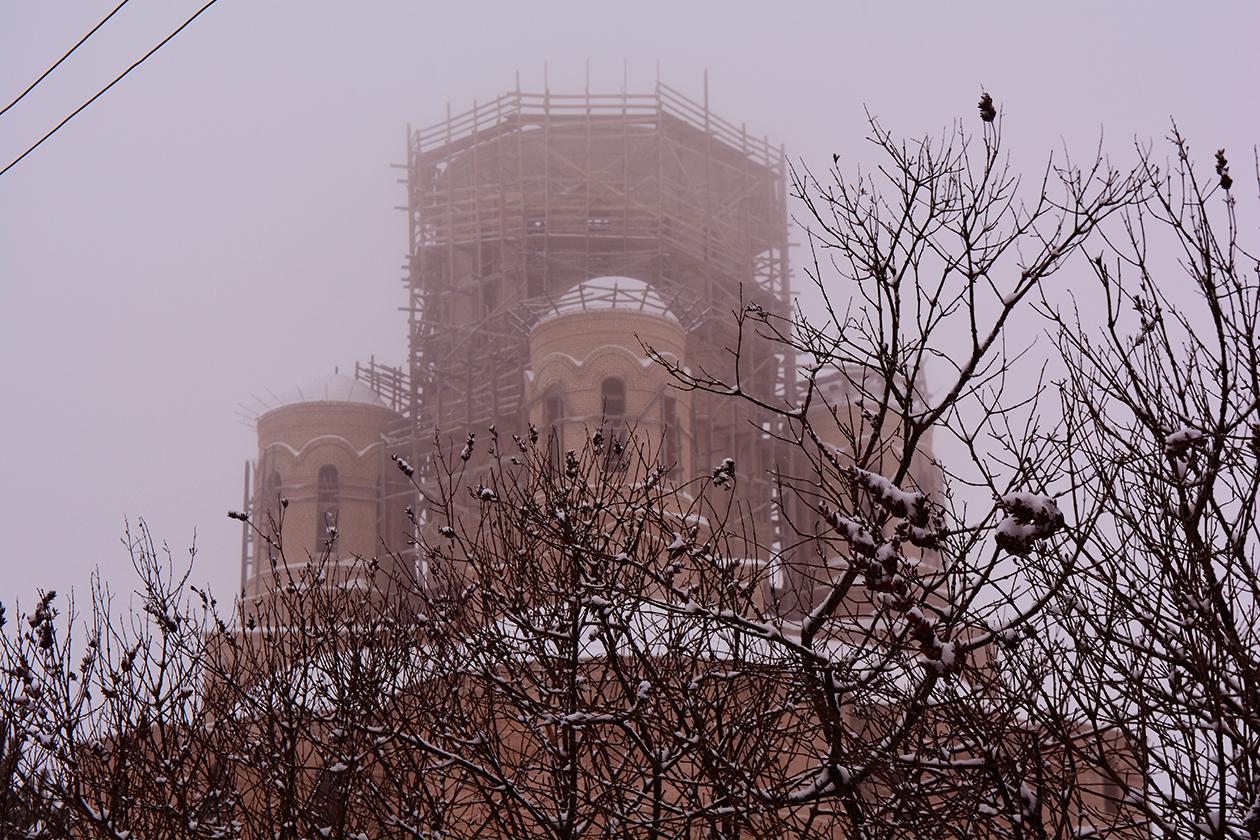 Для нового храма в Тверской обл. изготовлен купол. Приход просит о помощи (видео)