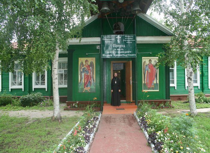 Благовещенская и Тындинская, пос. Поярково, Амурская обл. (храм)