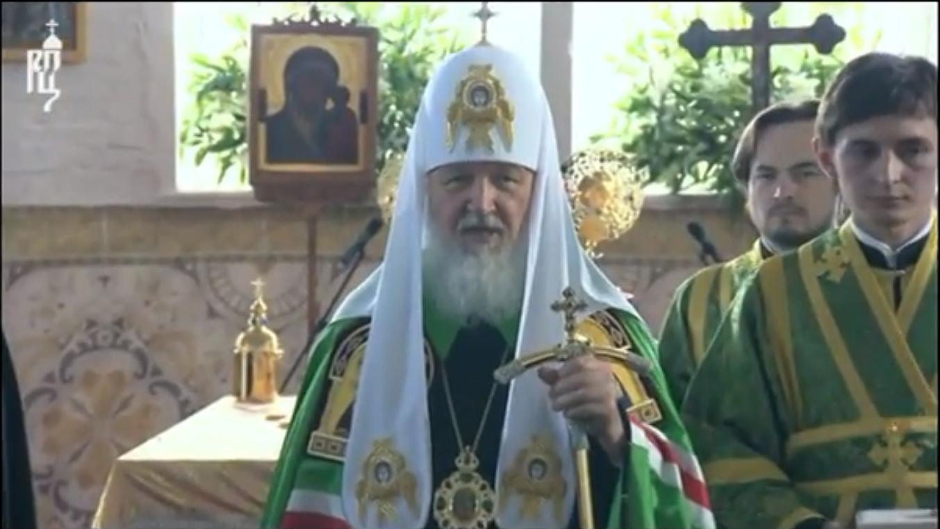 Приветствие Святейшего Патриарха Иоанновской семье