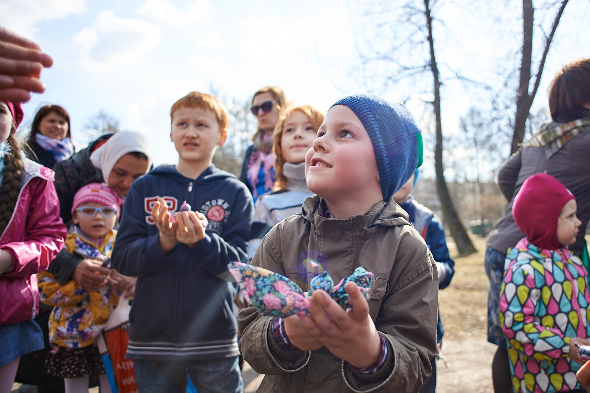 «Жавороночки, перепелочки, летите к нам!»: детский праздник в день Благовещения