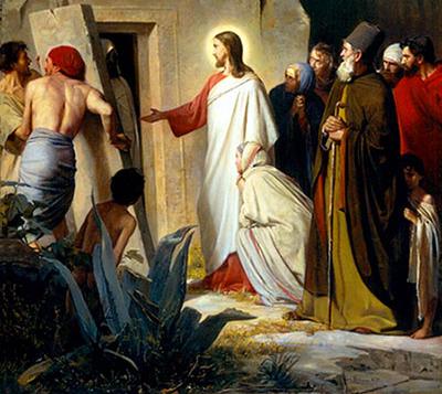 Христос словом воскресил Лазаря, и тем же словом воскреснут все