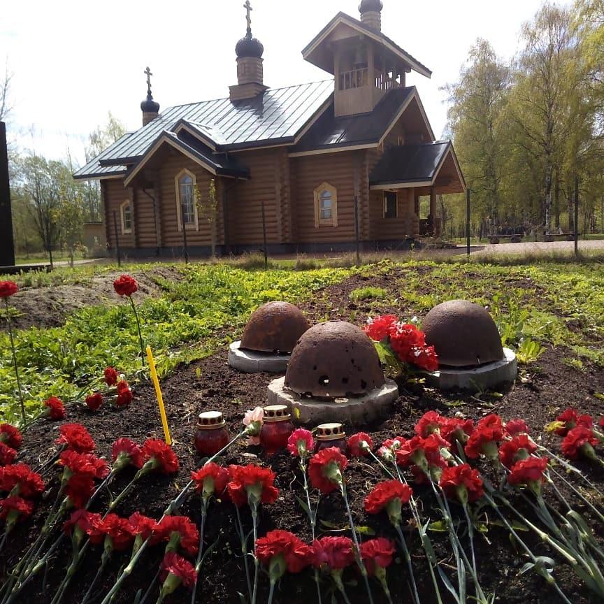 У храма в Санкт-Петербурге найдены останки воинов ВОВ