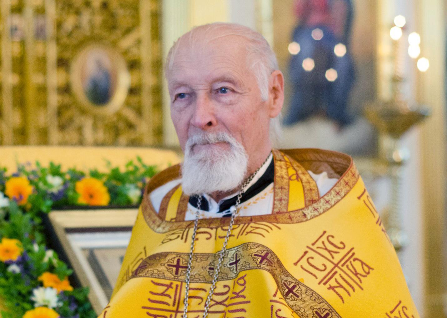 Почил иерей Вырицкого храма Георгий Фокин. Просим молитв