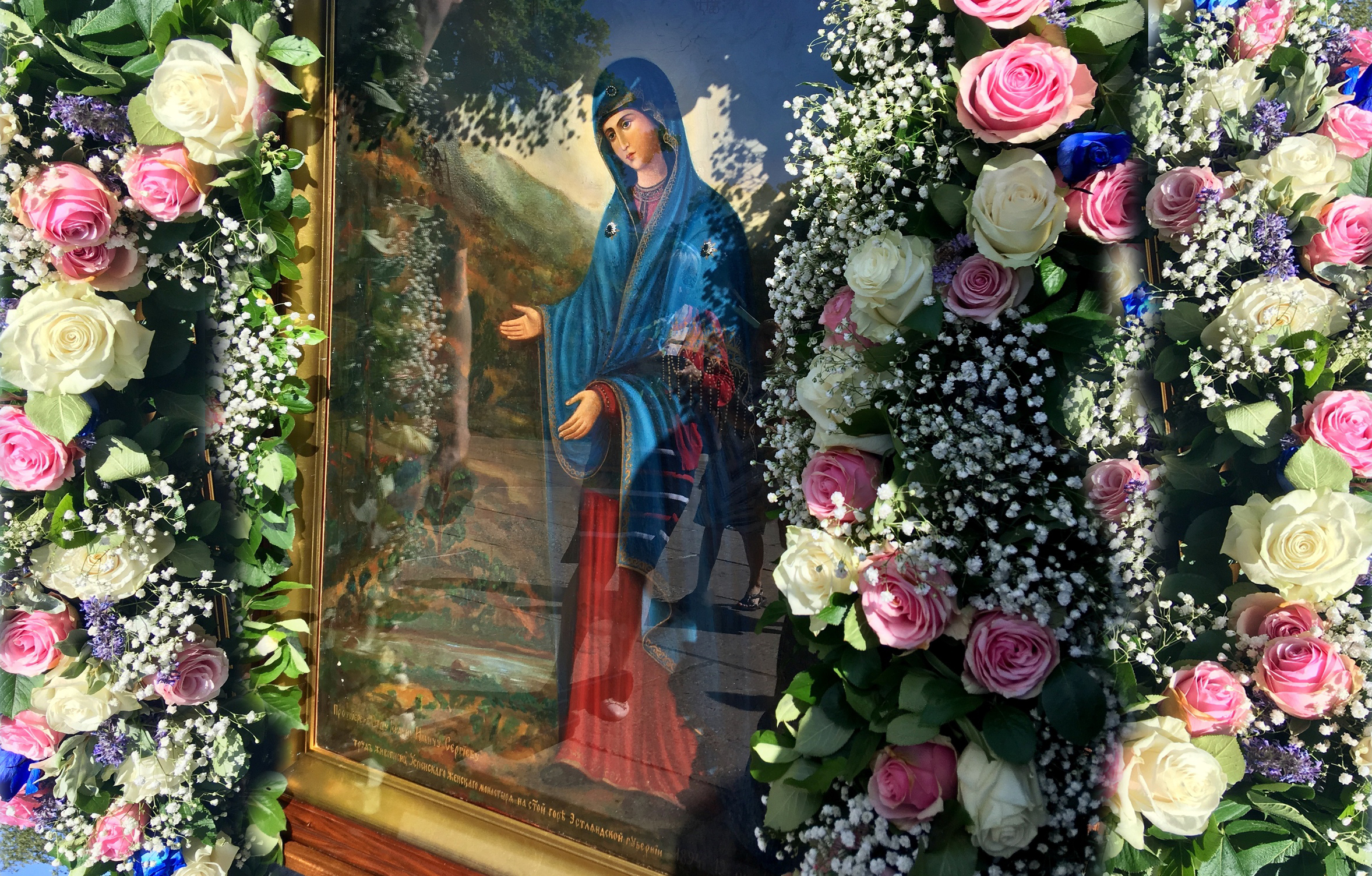 В Эстонии отметили праздник Пюхтицкой иконы Божией Матери «У источника»