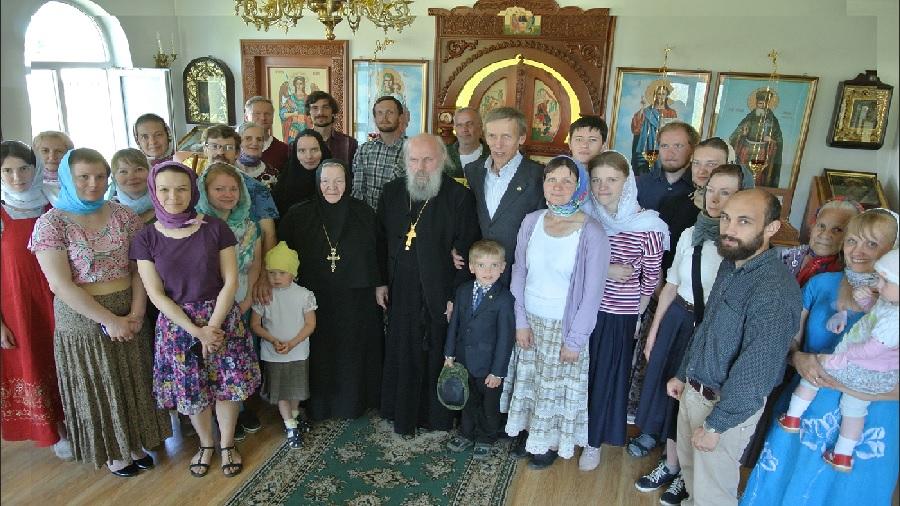 Наши прихожане участвовали в праздничном богослужении в день памяти Сергия Радонежского в Суре